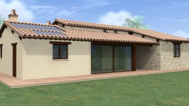 CANNARA- Terreno edificabile con progetto già approvato per villa singola unico livello